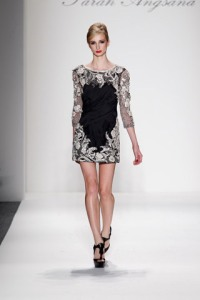 Look #8 from Farah Angsana's fall 2011 Runway Show at NYFW