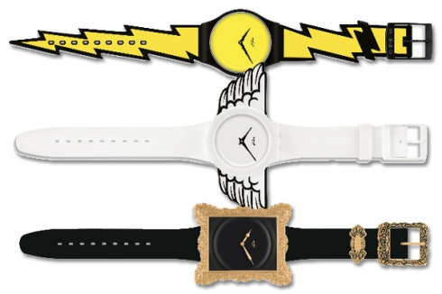 Jeremy Scott's Limited Edition Swatch Watches