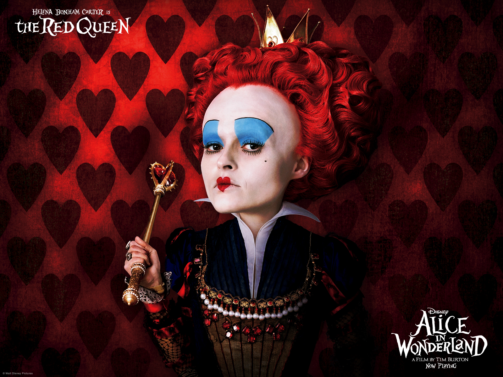 queen of hearts red queen