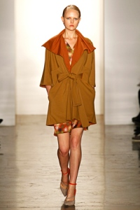 Look #5 from the fall 2012 Collection, photo by Alessandro Garofalo/GoRunway.com